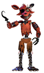 Withered Foxy Full body