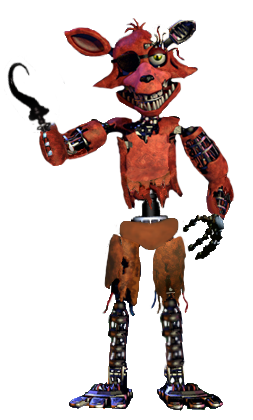 Withered foxy full body by joltgametravel on deviantart