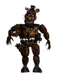 Nightmare Freddy full body *thank you image*