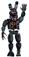 Nightmare Bonnie full body *thank you image*