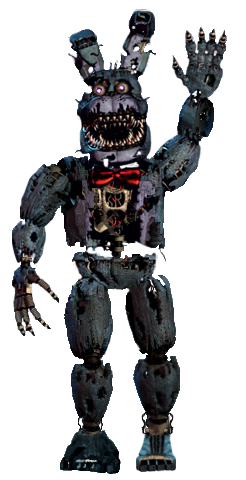 Nightmare bonnie full body thank you image by joltgametravel on