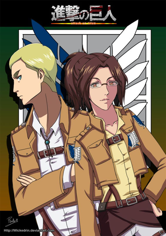 Cosplay Secret Santa - Erwin Smith + Hanji Zoe