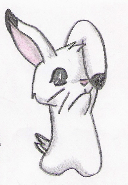 cute bunny by H... Cute Baby Bunny Drawings