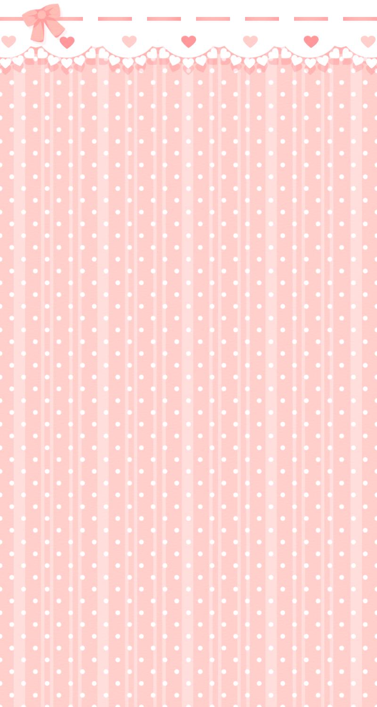 FREE Custom Box Background ~ Pink Polka Dots by Riftress
