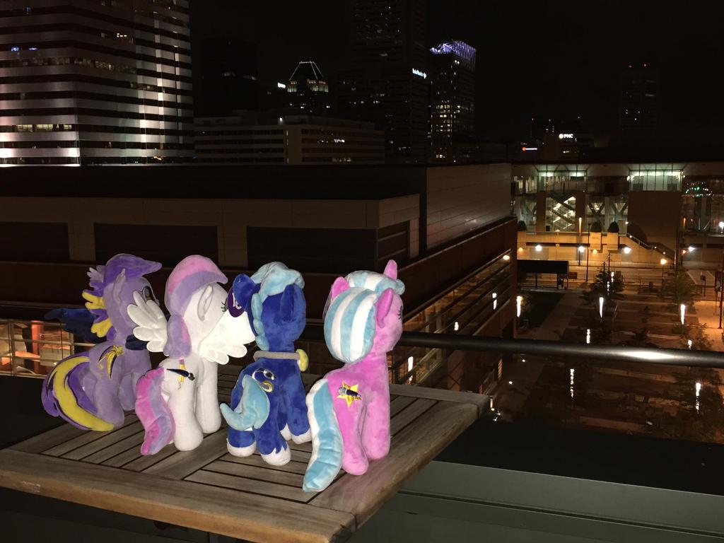 BronyCon Mascots Reflect by StatManDan