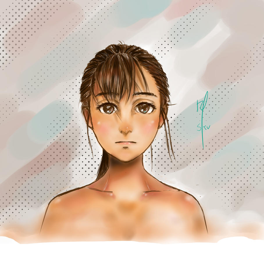 Girl by skotve