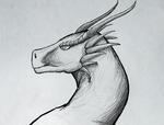 Dragon Sketch - Variation 1