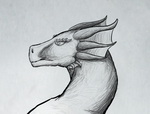 Dragon Sketch - Variation 2