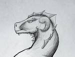 Dragon Sketch - Variation 3