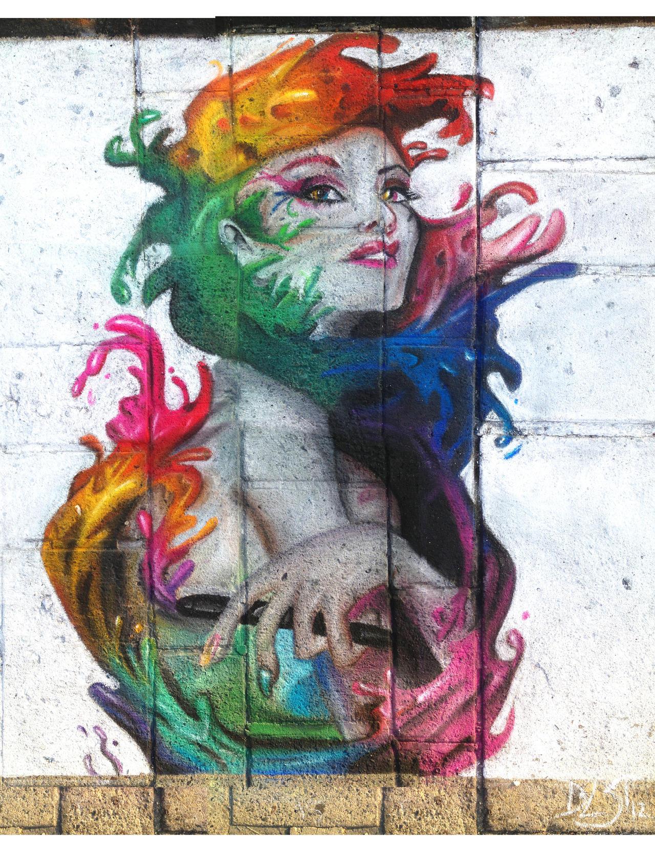 Angel of Color - soft pastels by DavidSerret