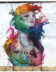 Angel of Color - soft pastels