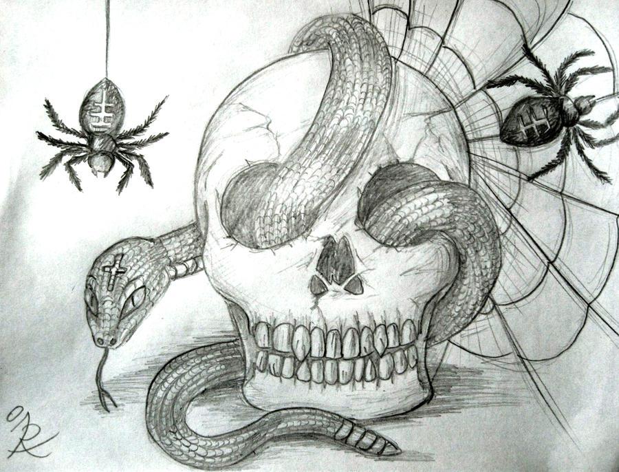 Skull snake n stuff by irenelamagra on deviantart skull snake n stuff by irenelamagra thecheapjerseys Gallery