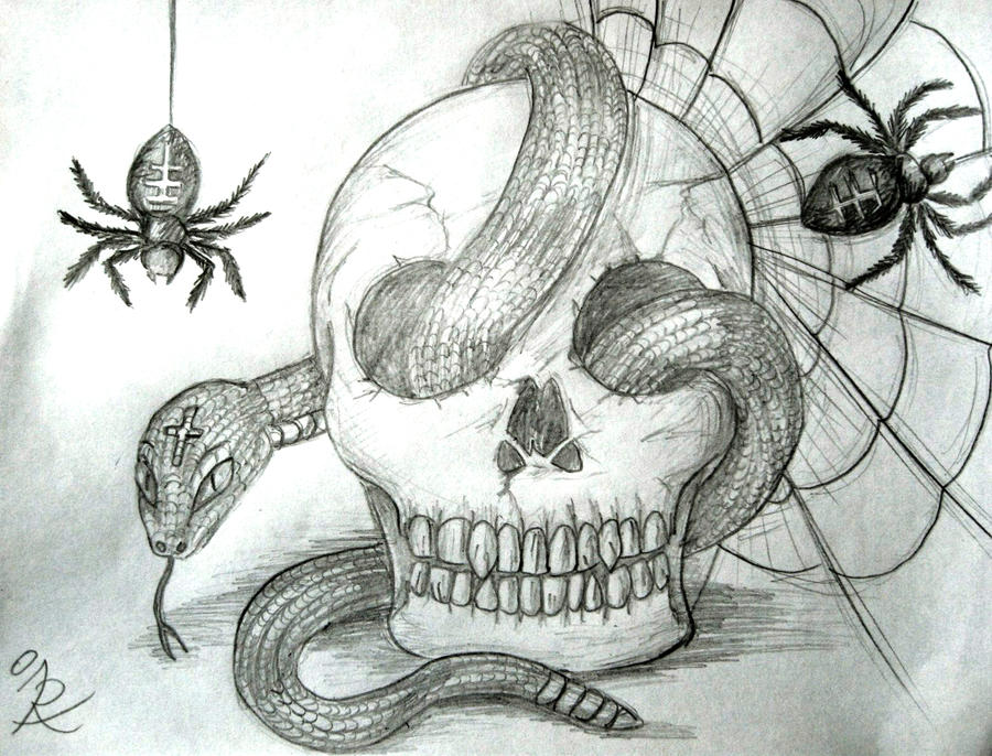 Skull snake n stuff by irenelamagra on deviantart skull snake n stuff by irenelamagra thecheapjerseys Images