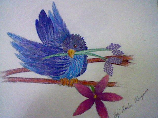 Blue Bird by HaruhiSuzihami