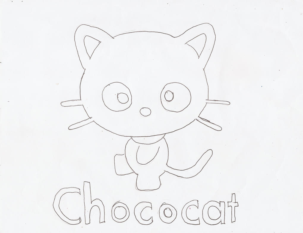 chococat coloring pages - photo#4