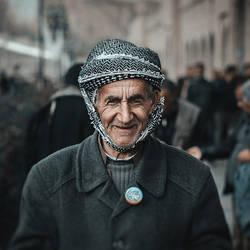 Cheerful elder