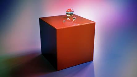 Cube vs Balls