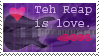 Love teh Reap Stamp by Feimi