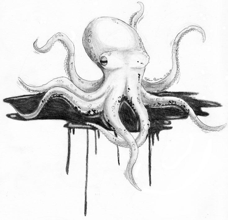 Inky Octopus By Feimi ...