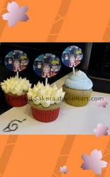 Team 7 Cupcakes by Emerald-Sakura