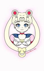 Eternal Sailor Moon by Emerald-Sakura