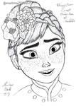 Anna in Kimono1 by markma7234567
