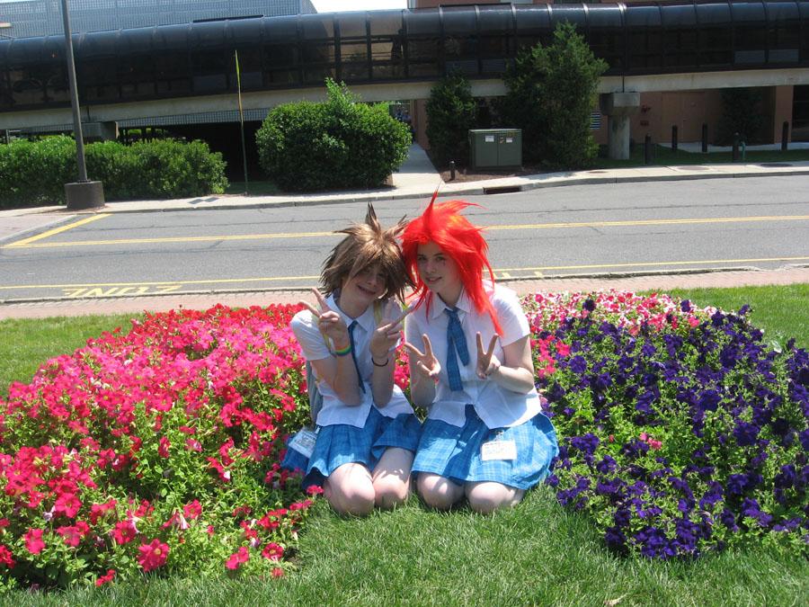 Sora2 + Axel Schoolgirl Style by UchihaHitomi