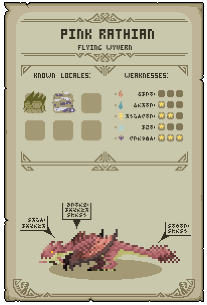 monster hunter world pink rathian weakness