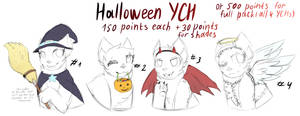Halloween YCH Closed
