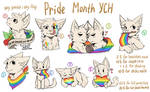 Pride Month YCH CLOSED (PayPal/points) by CattyAngel