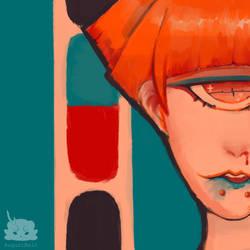 [Art Trade] Smudge by AugustRein