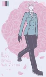 [FanArt] Happy Birthday Akechi by AugustRein
