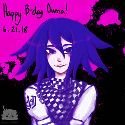 [FanArt] Happy Birthday Ouma by AugustRein