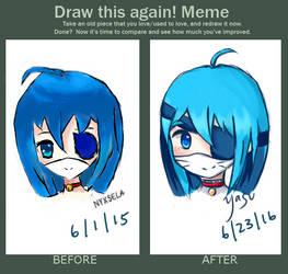 Draw this Again! Meme 1 by yasuuri