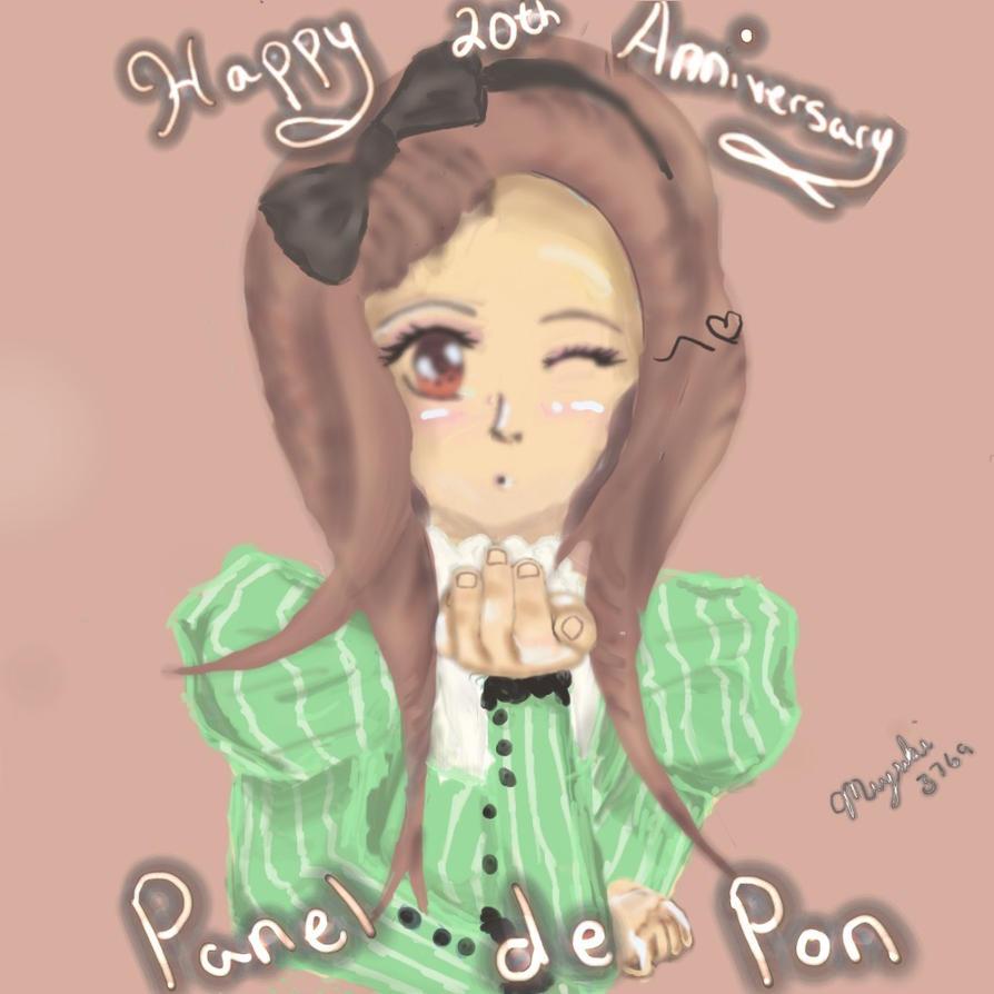 Panel de pon 20th Anniversary With Iori by Miyuki3769