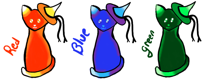 Free Witch Kitty Adopts *CLOSED* by Miyuki3769