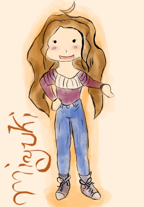 Self Cartoon Chara by Miyuki3769