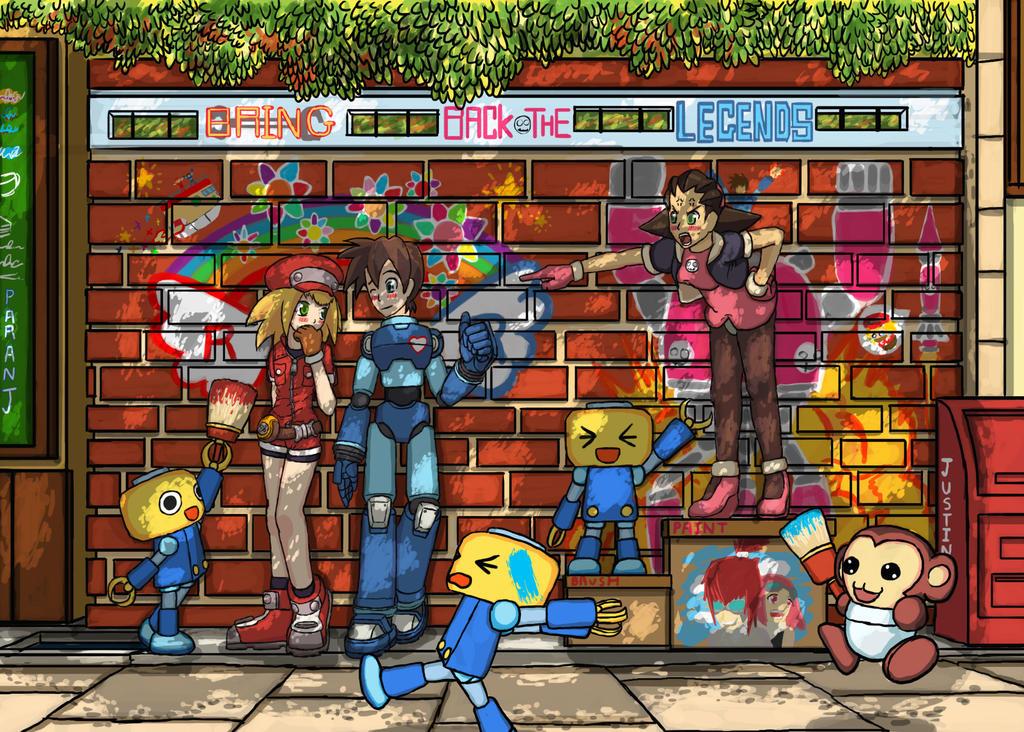 Megaman Legends Arcade Stick TE by armando on DeviantArt