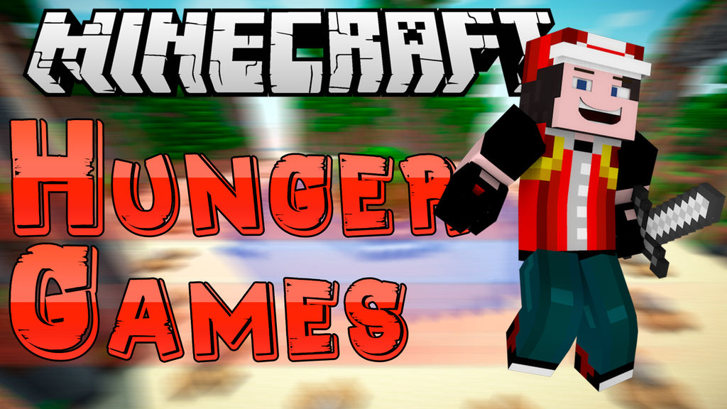 My Minecraft Hunger Games Thumbnail Template By Pokeblaze12 On