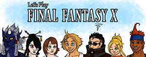 Let's Play FFX Banner by DippyWerewolf