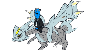 the night king and.. viserion? by kish95