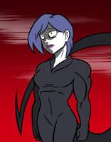 Demon Bulma Ultima Evil form by kish95