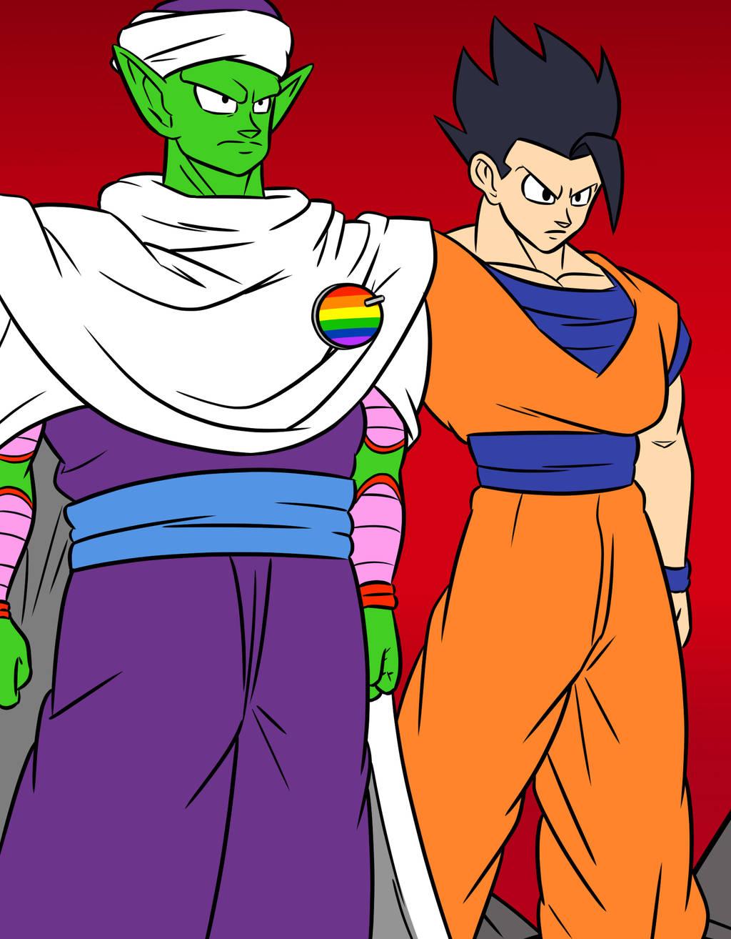 Piccolo and gohan by kish95