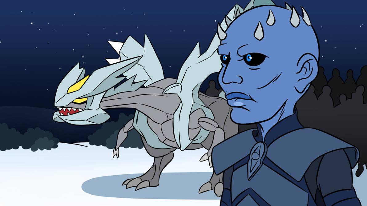 Night King and his dragon by kish95