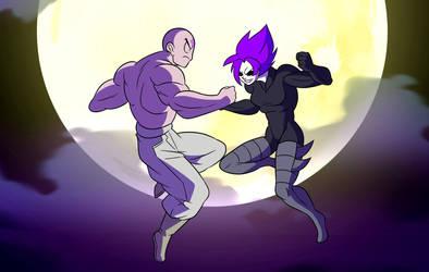 God Krillin VS Demon Bulma