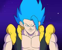 BLUE GOGETA