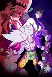 Fallen Angel\SuperSayan5 saga poster