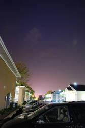Night Shots 1 Parking Lot by heyfunny