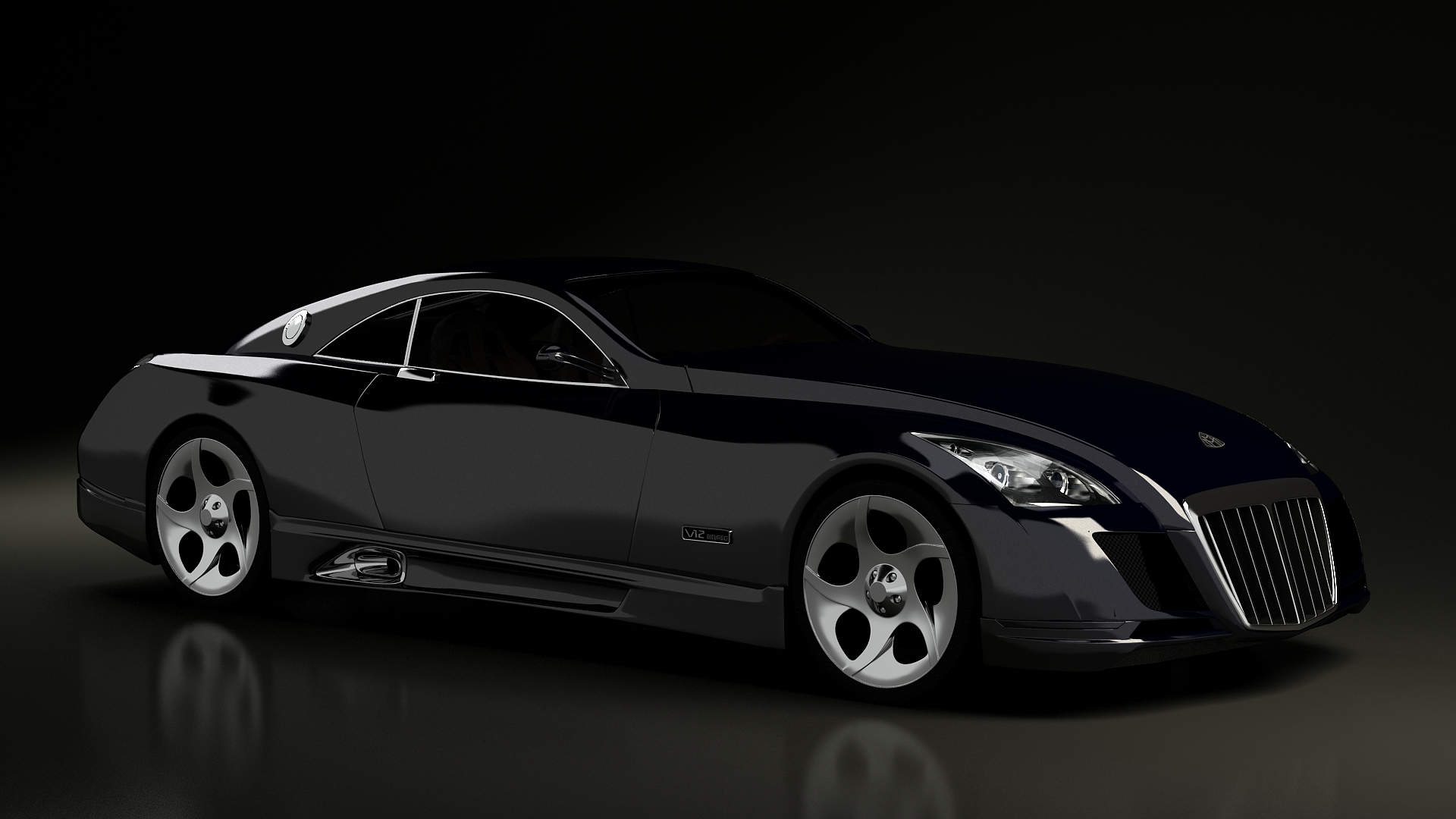 maybach exelero the world 39 s most expensive car. Black Bedroom Furniture Sets. Home Design Ideas