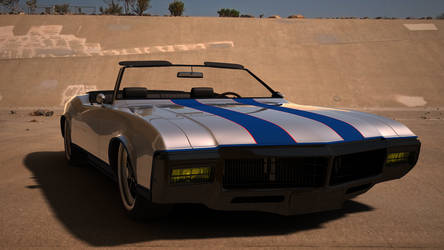 Buick Riviera 1969 Convertible Front View